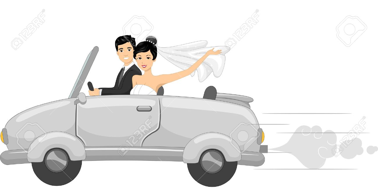 Free download | Newlywed couple illustration, Wedding invitation Cartoon ,  Wedding People transparent background PNG clipart | HiClipart