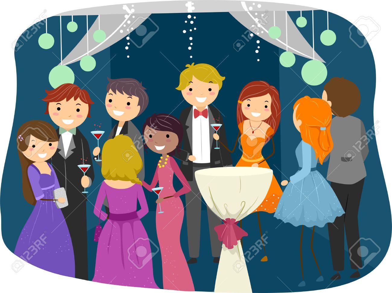 Prom Night Cartoon