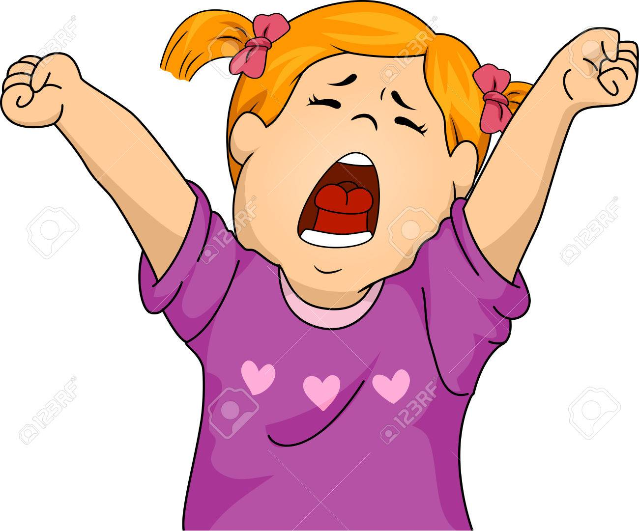 illustration featuring a girl letting out a big yawn royalty free rh 123rf com yawn clipart free cat yawn clipart