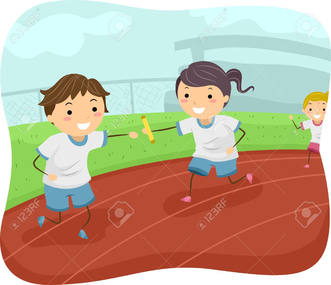 Track & field.
