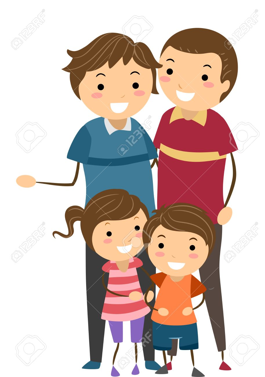 stickman illustration of a family with same sex parents stock photo rh 123rf com sex word clipart emoji sex clipart