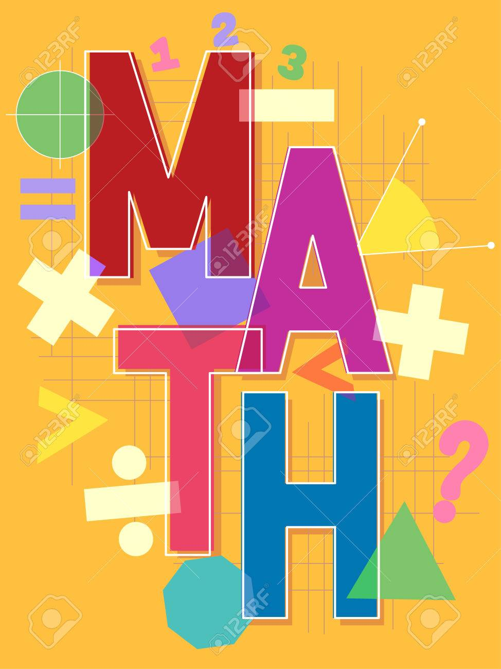 Typographical illustration featuring the word math surrounded typographical illustration featuring the word math surrounded by different mathematical symbols stock illustration 65955843 buycottarizona