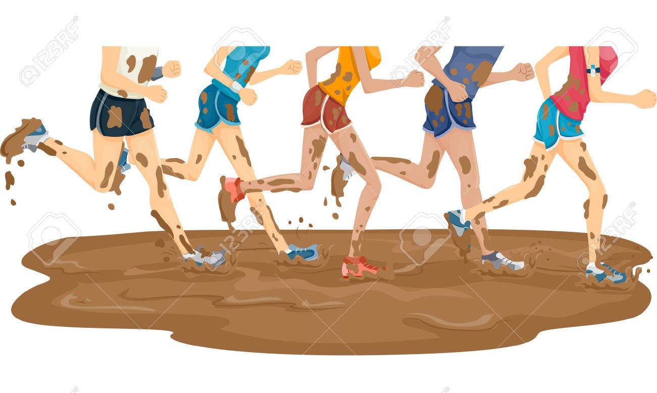 Mud run marathon photos — 1