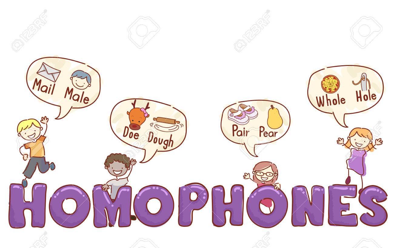 Stickman Illustration Of Preschool Kids Giving Examples Of Popular