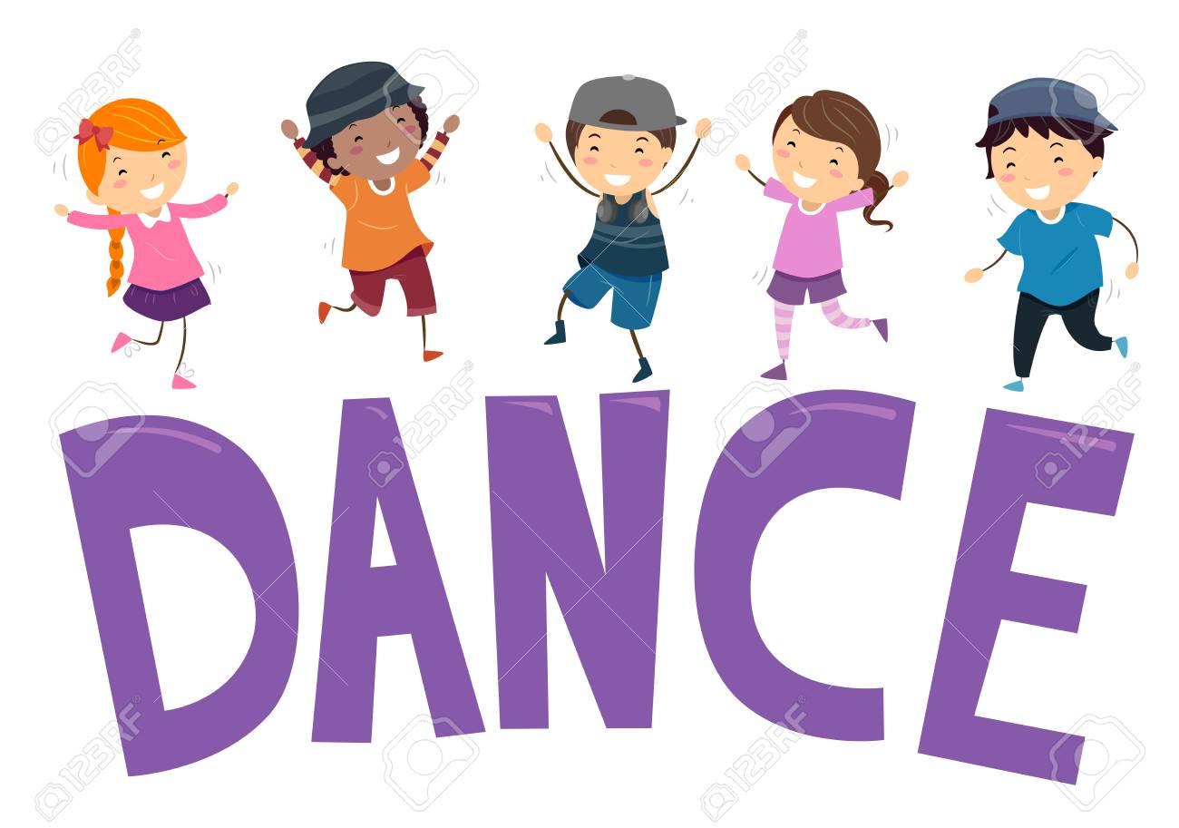 Výsledek obrázku pro kids dancing