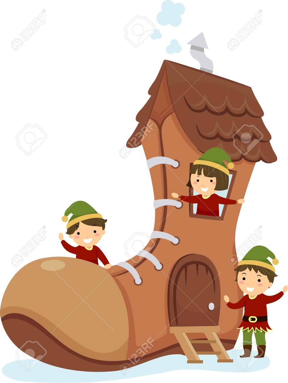 Elf House Clip Art Images Gallery