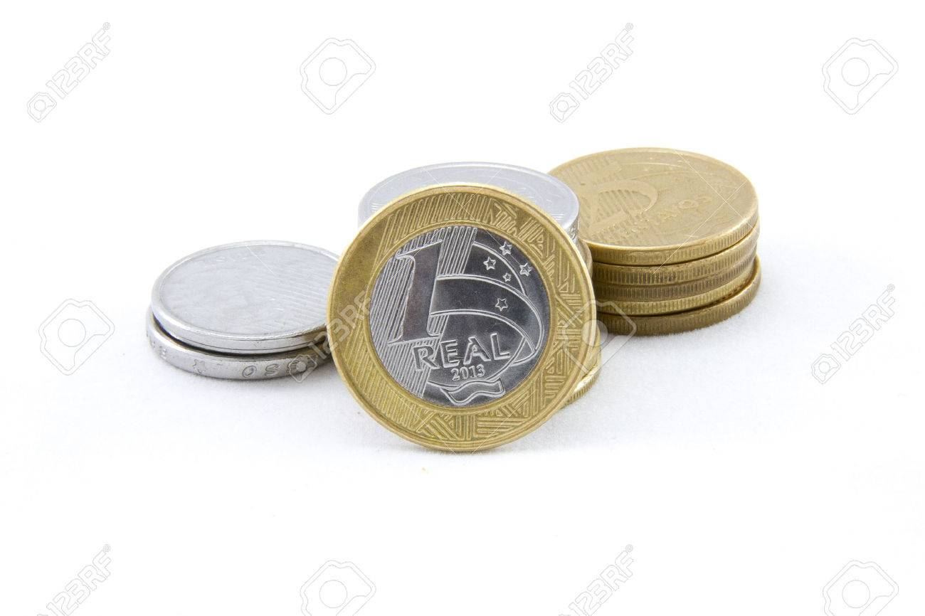 Coins brazilian currency 1 real stock photo picture and royalty coins brazilian currency 1 real stock photo 35890730 buycottarizona Images