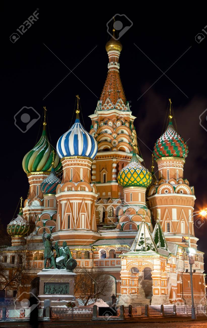 Saint Basil Cathedral in Moscow Stock Photo - 12953894
