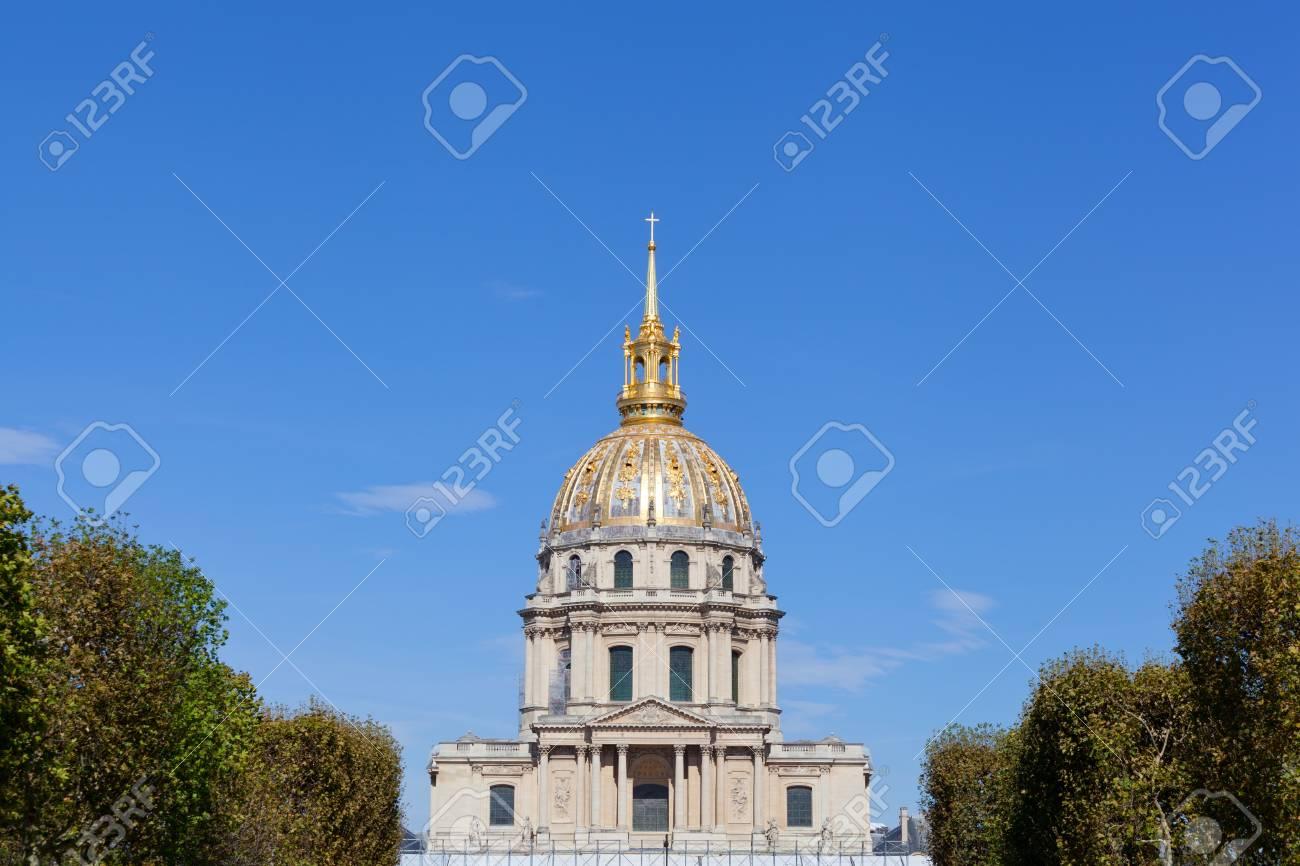 View of Les Invalides, Paris Stock Photo - 16209562