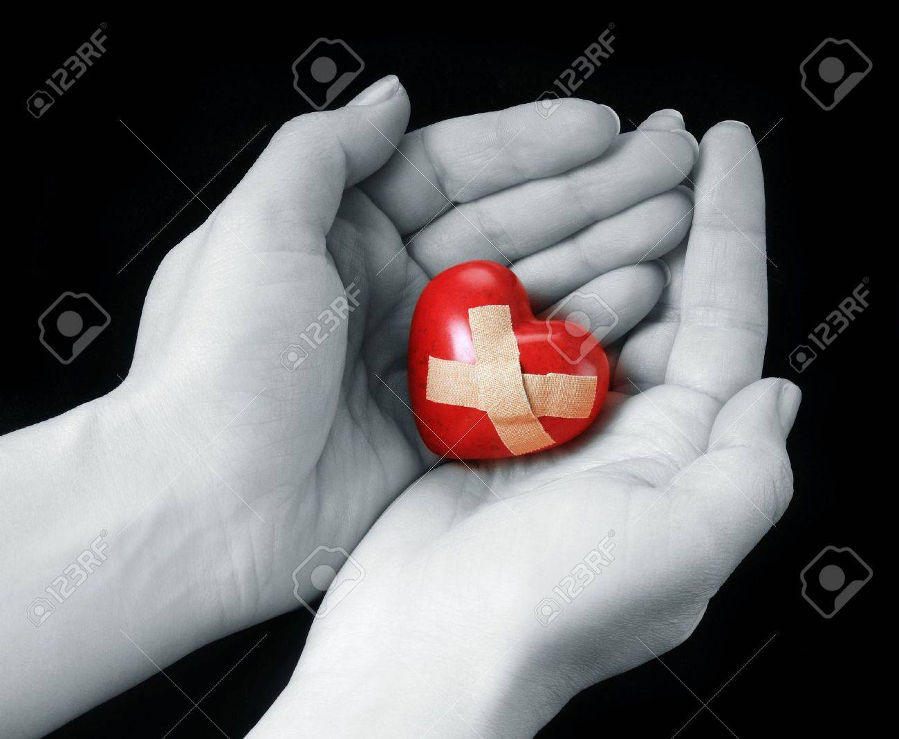 broken heart Stock Photo - 4123116
