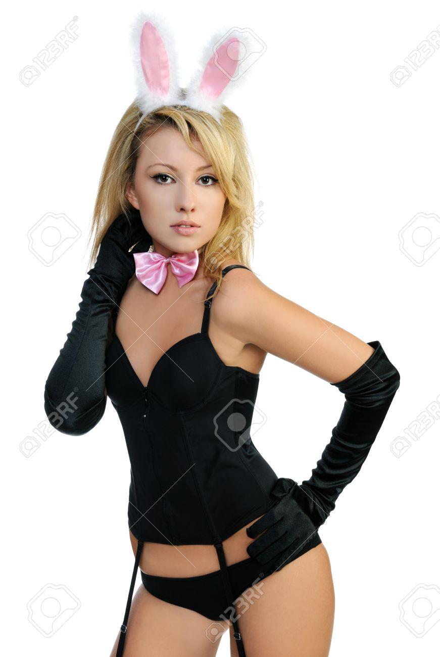 Фото девушки в костюме зайца 9 фотография