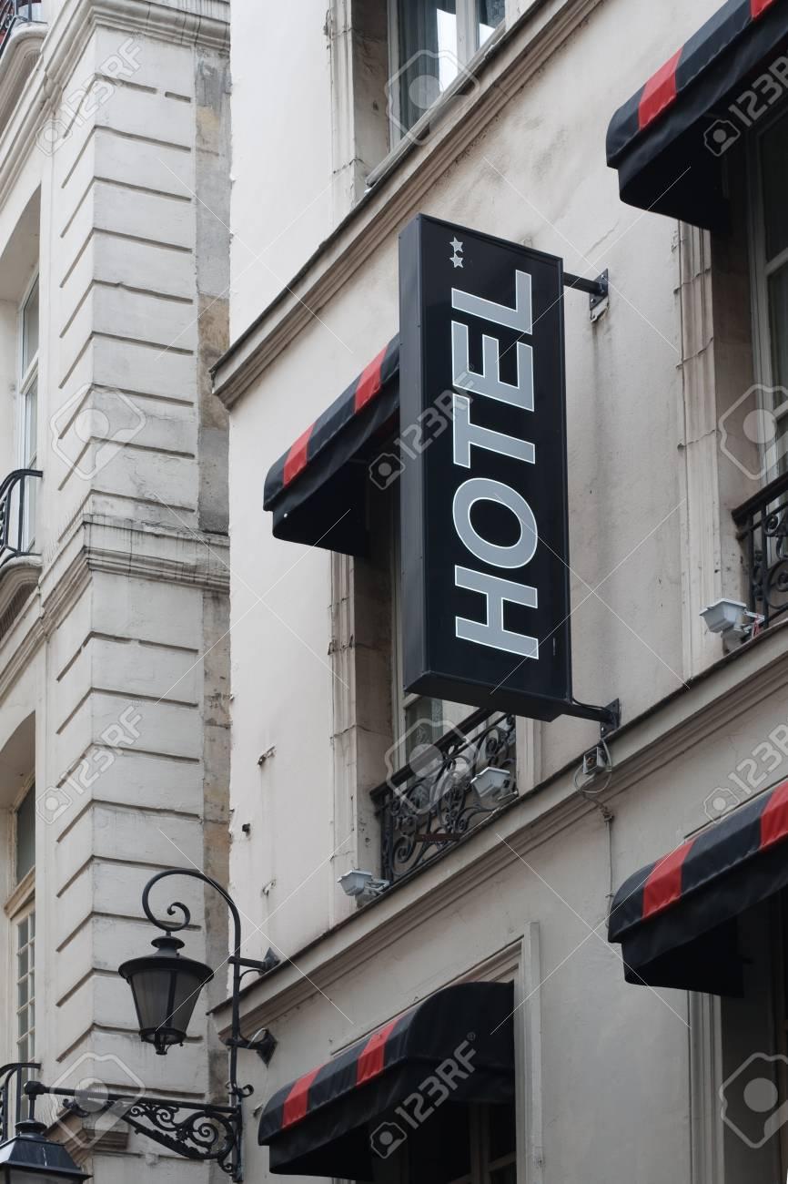 Hotel in Paris Stock Photo - 16519272
