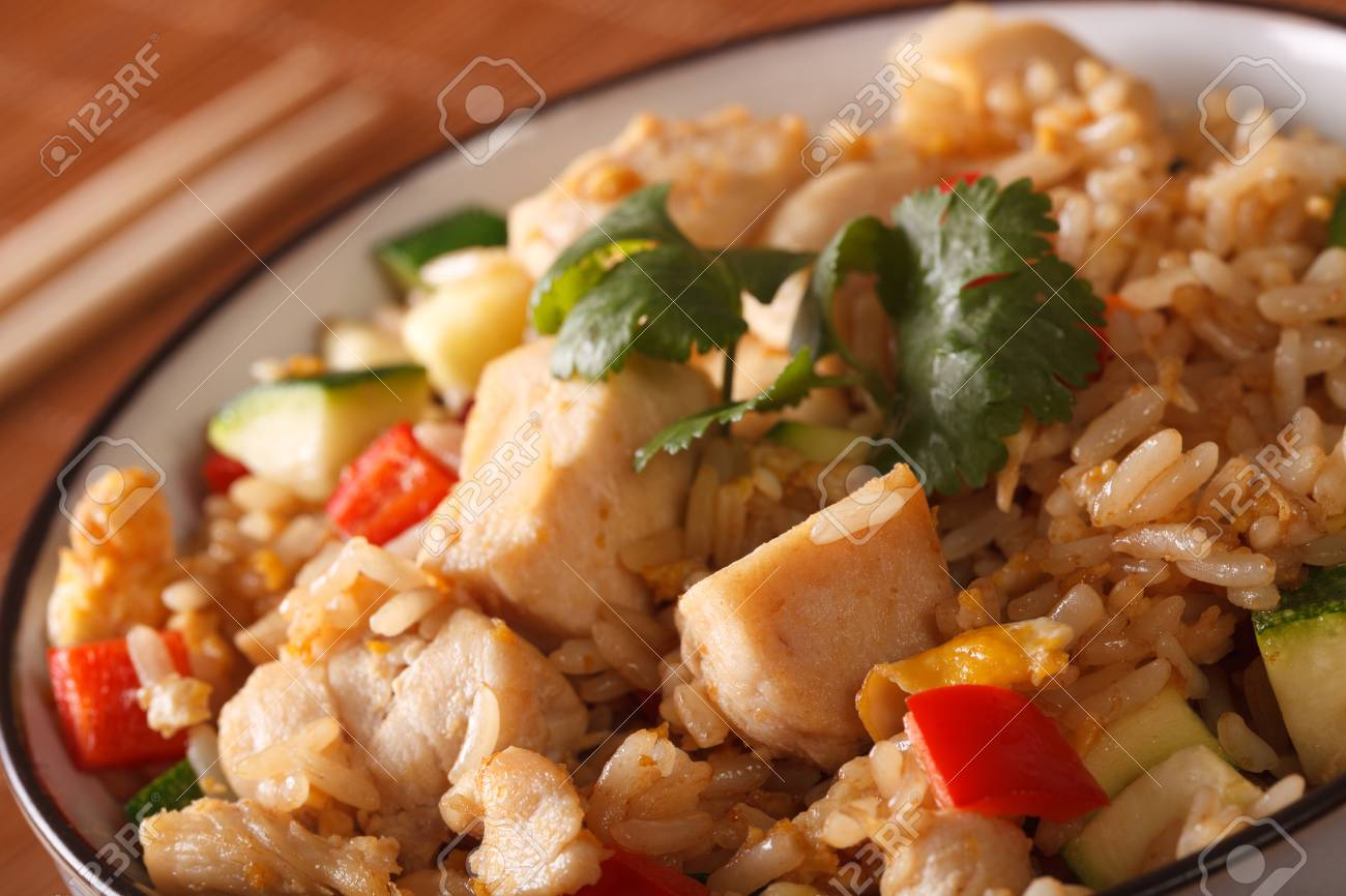 Seafood tyahan or rice with seafood 9