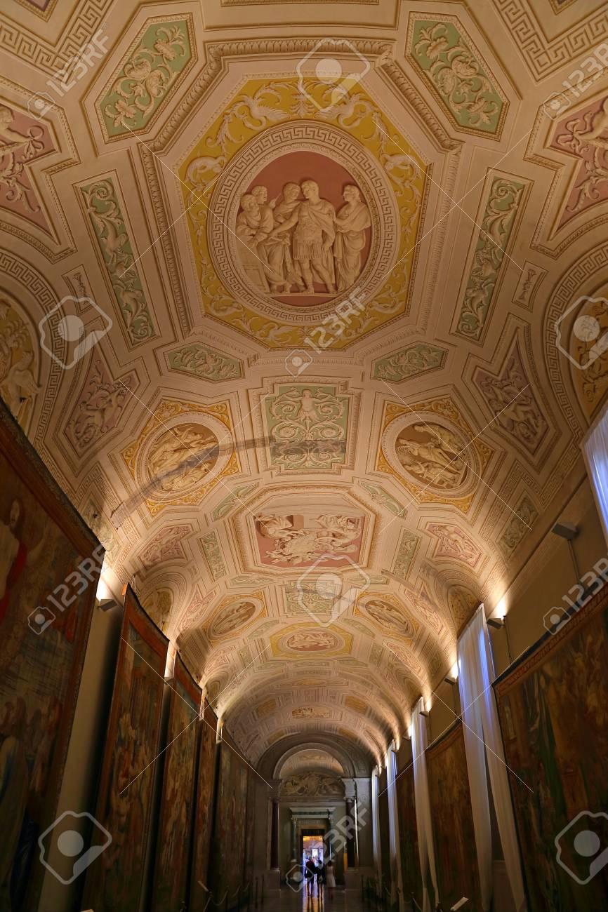 Museo Del Vaticano.Immagini Stock All Interno Del Museo Vaticano Uno Dei Piu Grandi