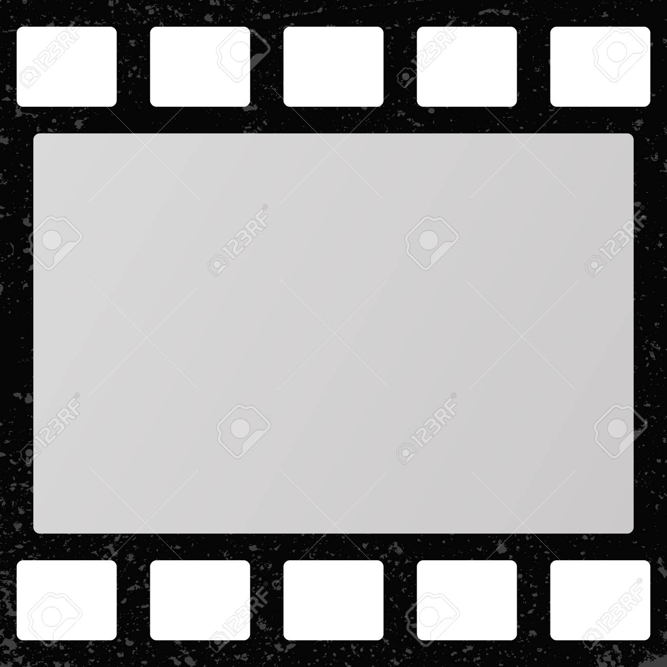 Retro Movie Film Frame Royalty Free Cliparts Vectors And Stock