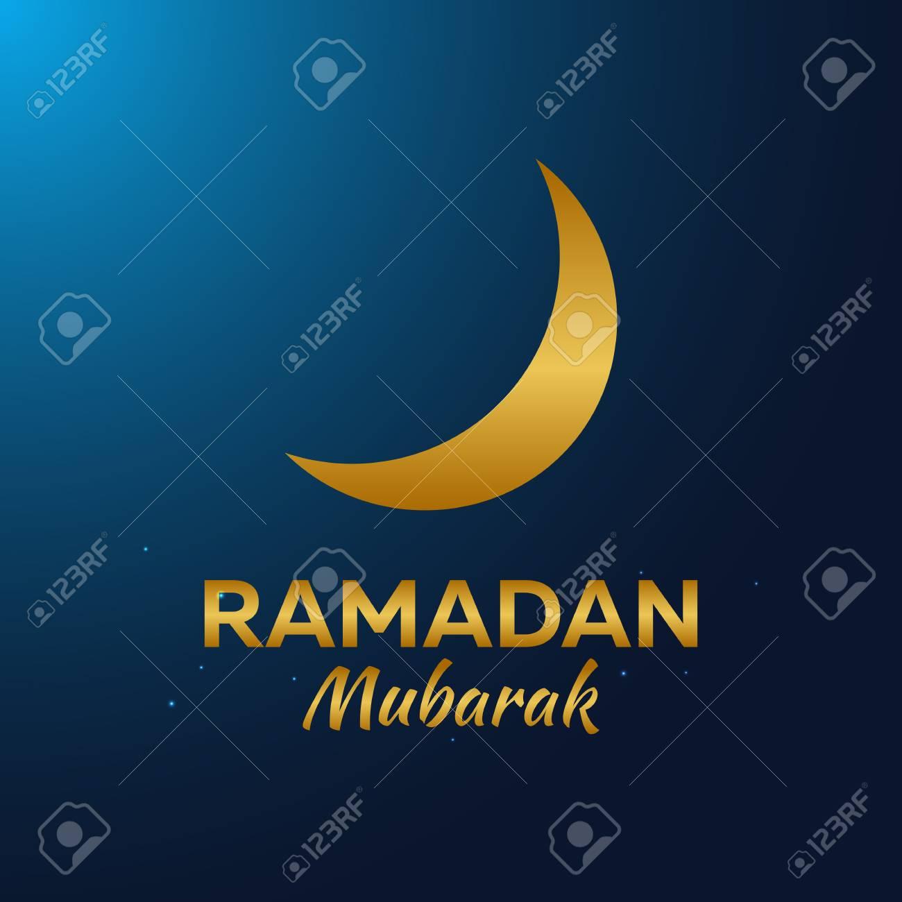 Ramadan kareem ramadan mubarak greeting card arabian night ramadan kareem ramadan mubarak greeting card arabian night with crescent moon stock vector m4hsunfo