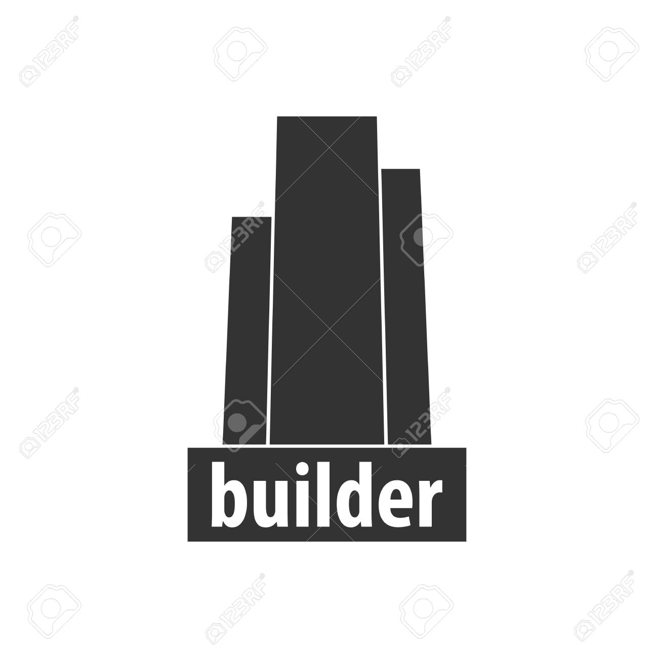 Building Logo Design Department Modern Buildings Company Icons