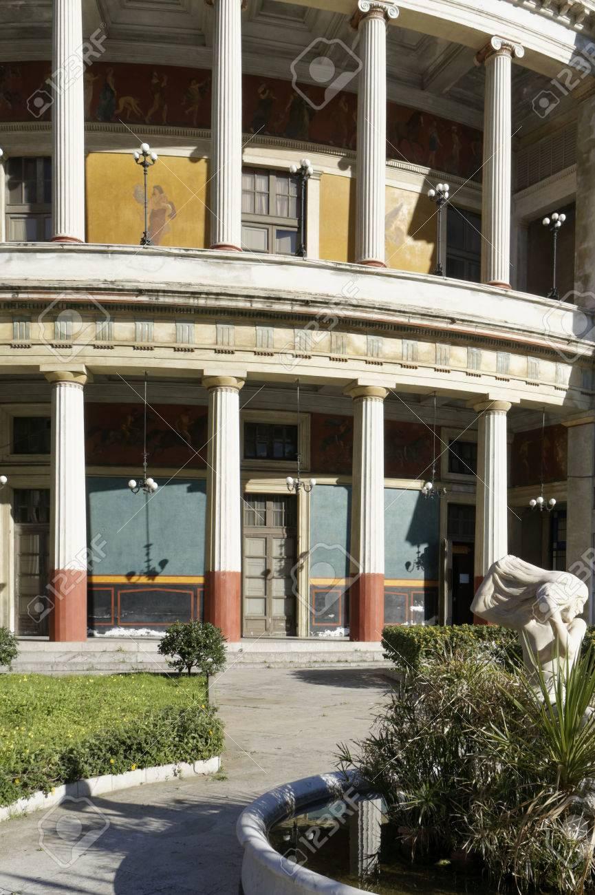 Politeama opera house, Palermo Italy
