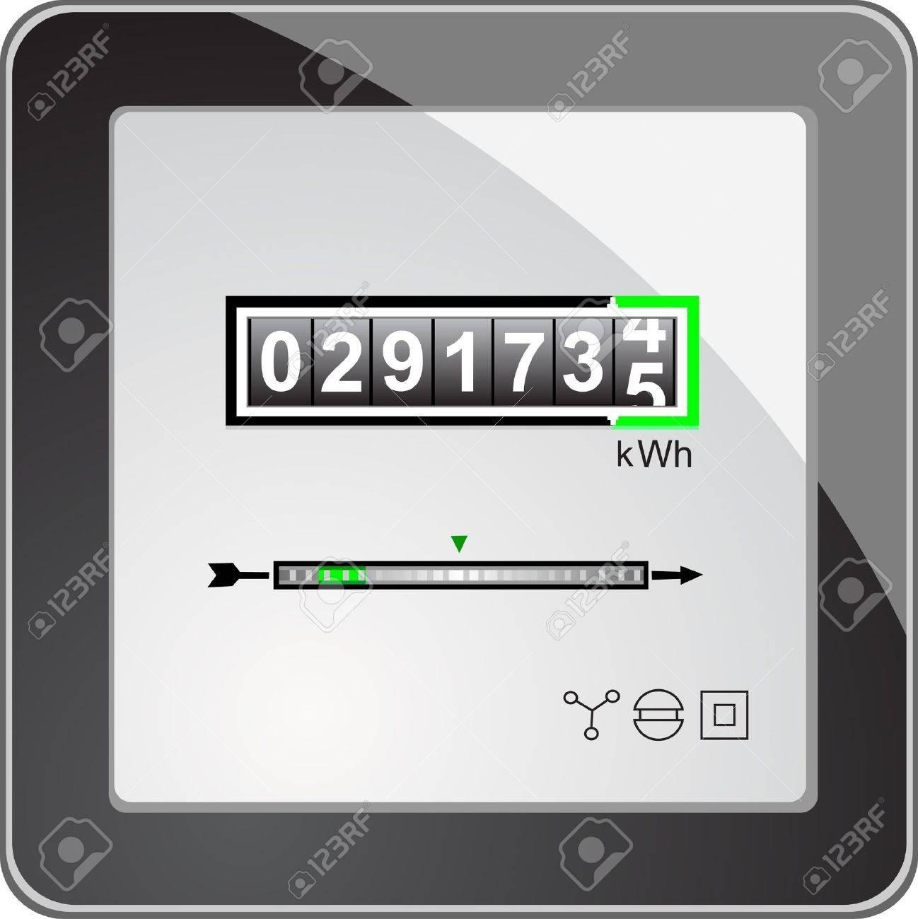 Energy meter Stock Vector - 11223505