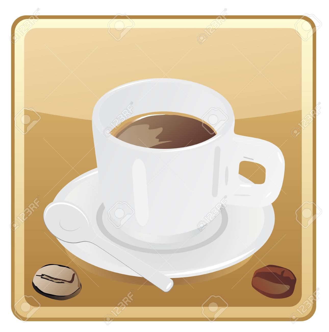 Coffee cup icon Stock Vector - 13585990
