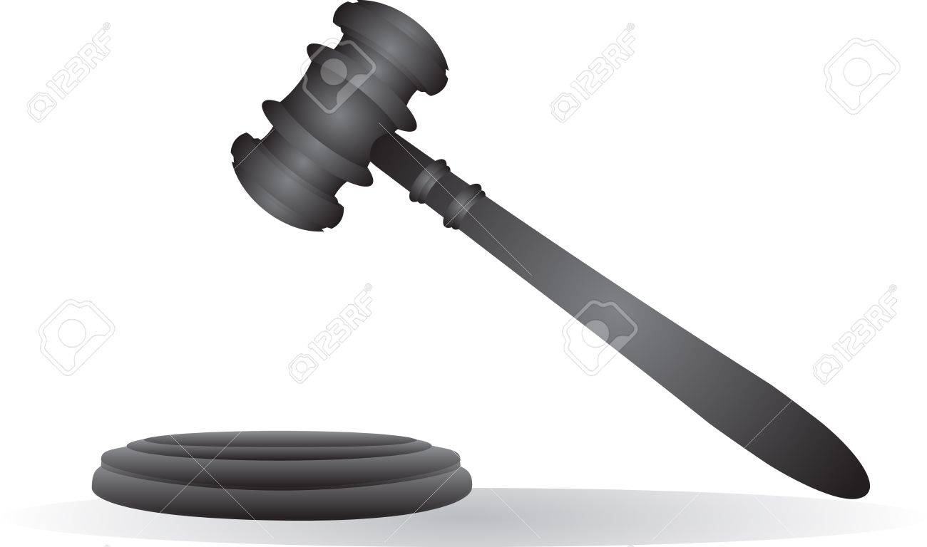 Gavel - Retro Clip Art Royalty Free Cliparts, Vectors, And Stock ...