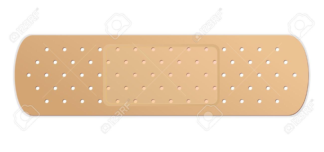 Adhesive bandage  Vector Stock Vector - 13749665