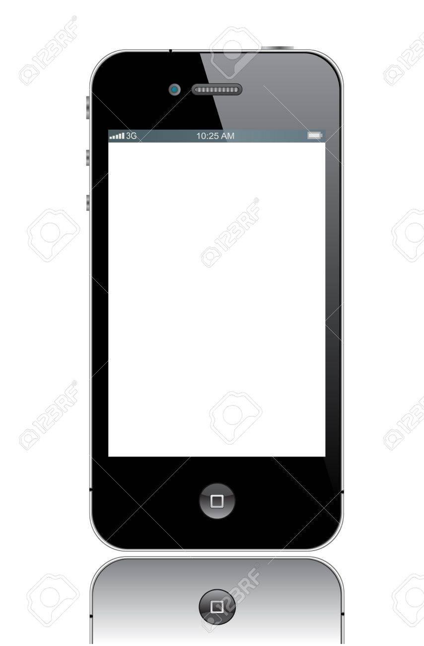 Apple iPhone 4 Banque d'images - 13789425