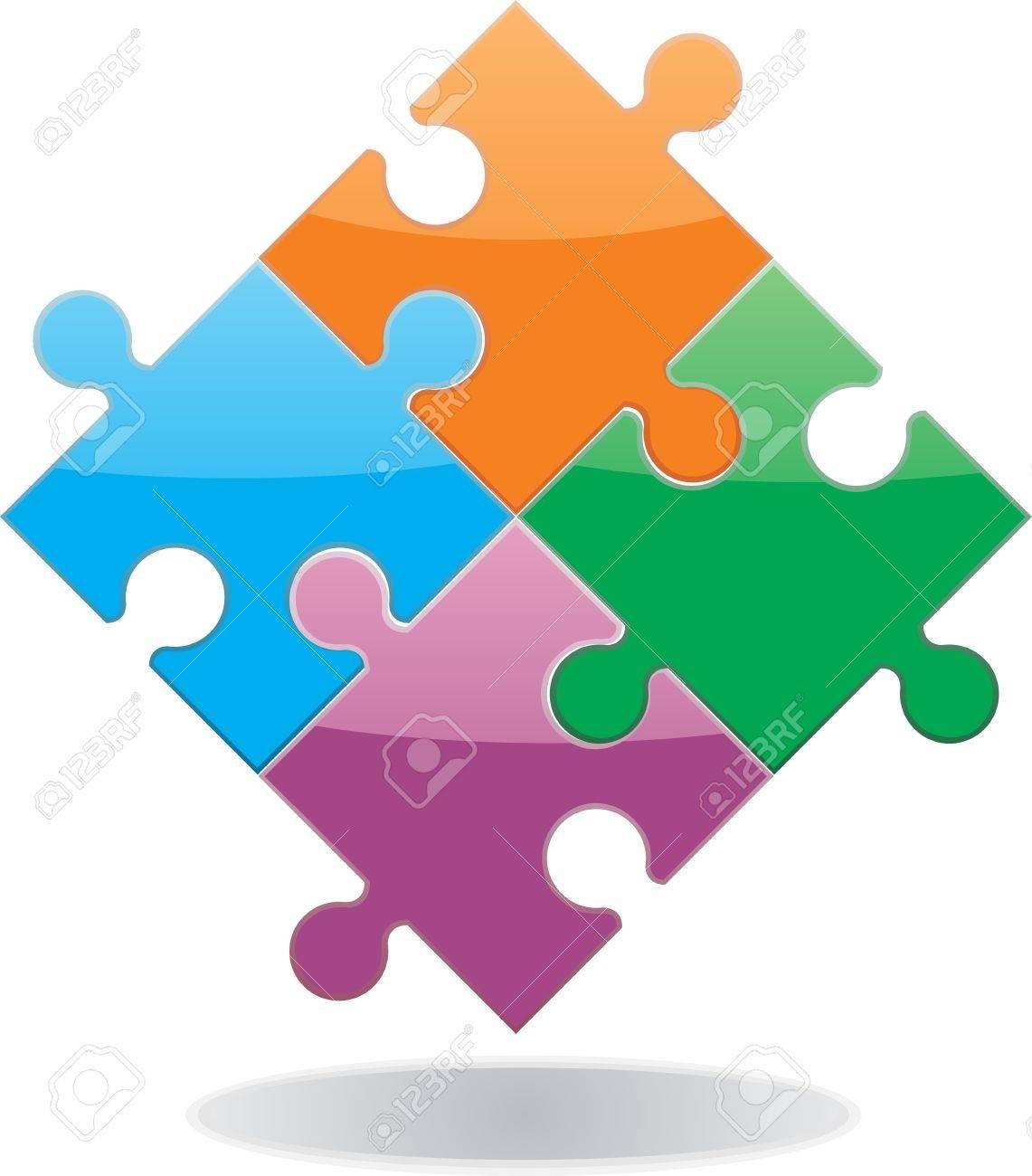 Illustration Puzzle Banque d'images - 14414931
