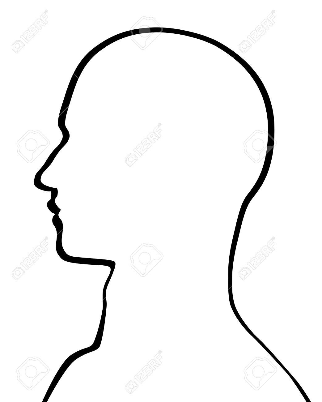 Human Head Stock Vector - 17477123