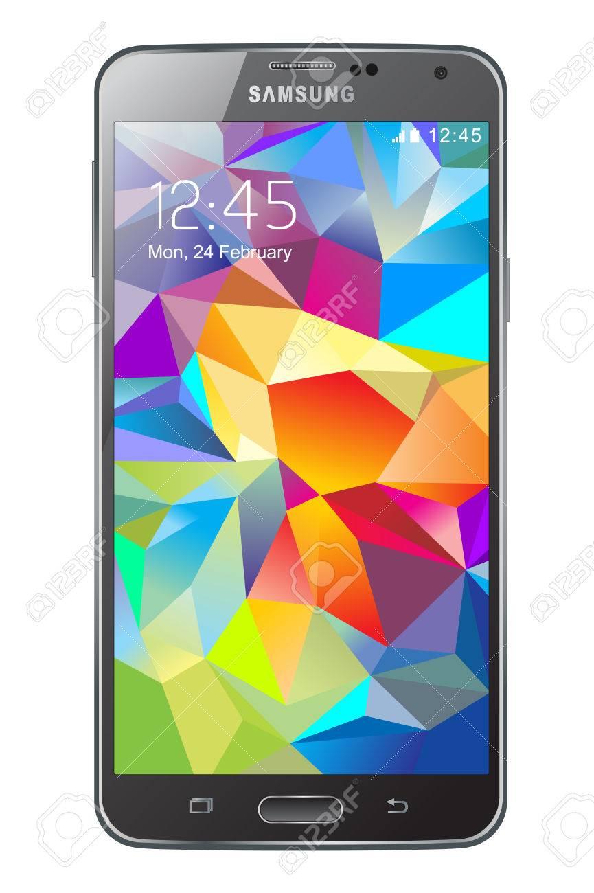 Samsung Galaxy S5 Banque d'images - 26218352