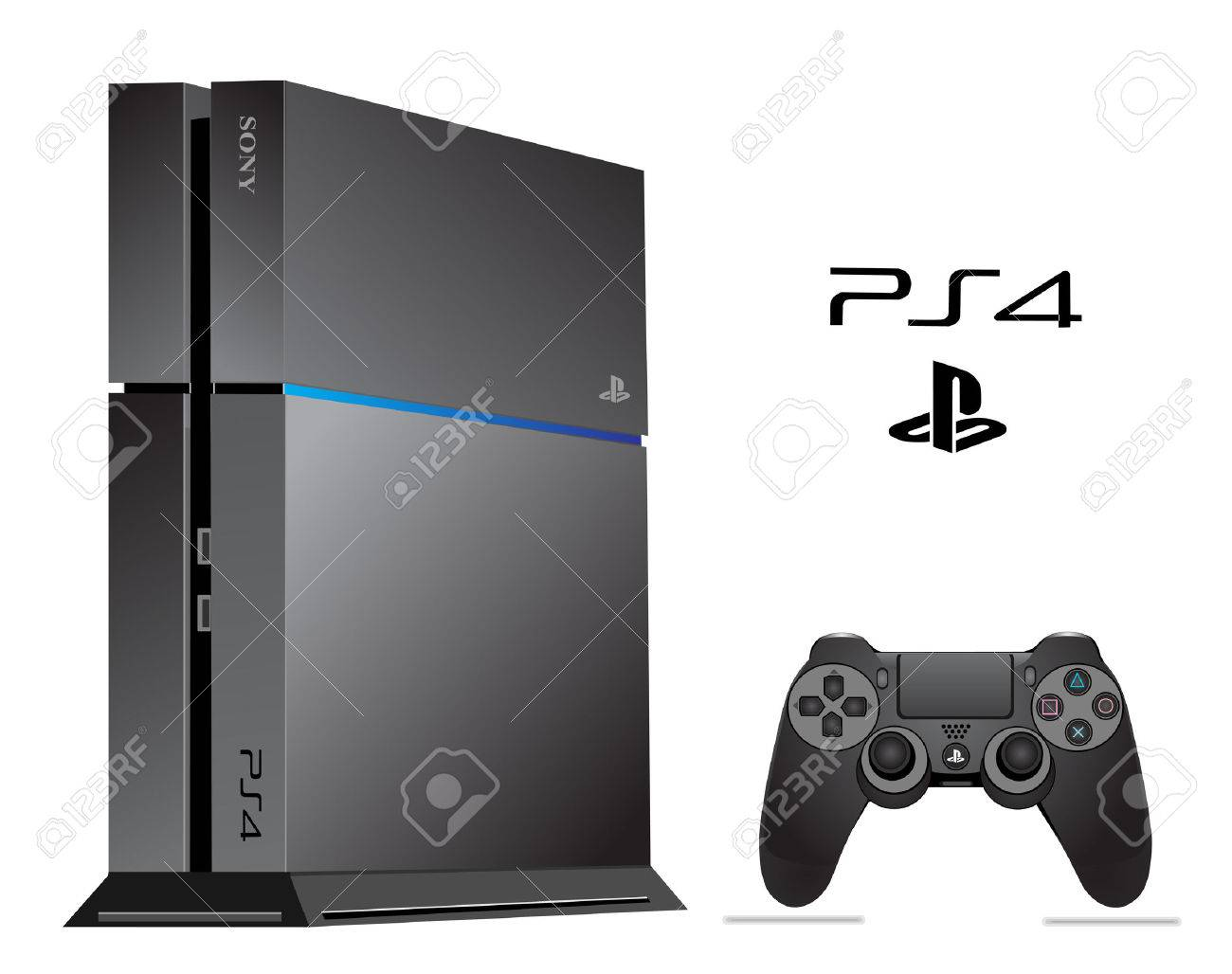 Sony Playstation 4 Banque d'images - 26278152