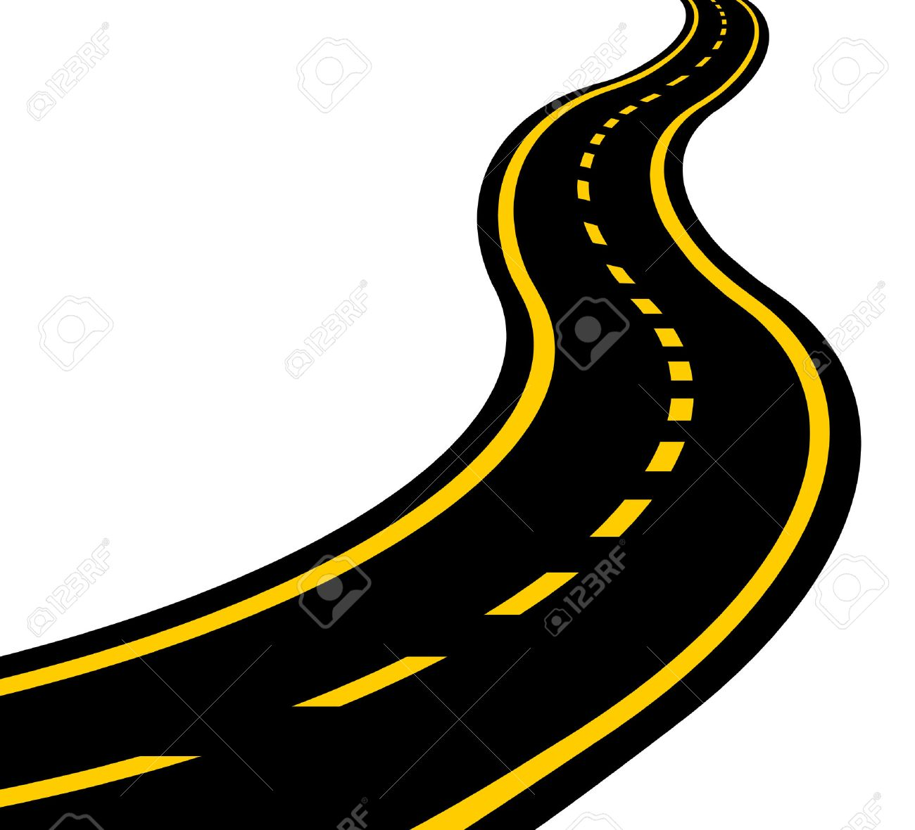 winding road vector eps 10 royalty free cliparts vectors and stock rh 123rf com road vector maps road vector free download