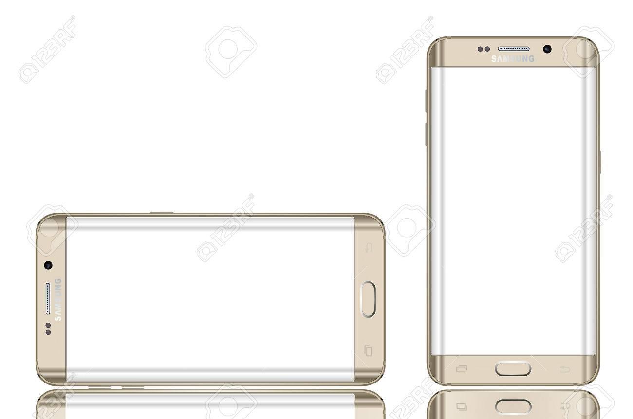 Bord de Samsung Galaxy en plus Banque d'images - 43721325