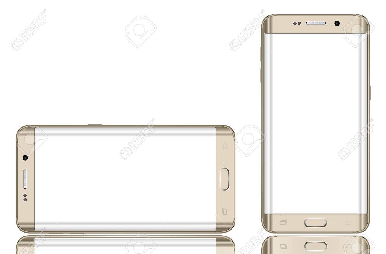 Modern mobile phone Banque d'images - 43871198
