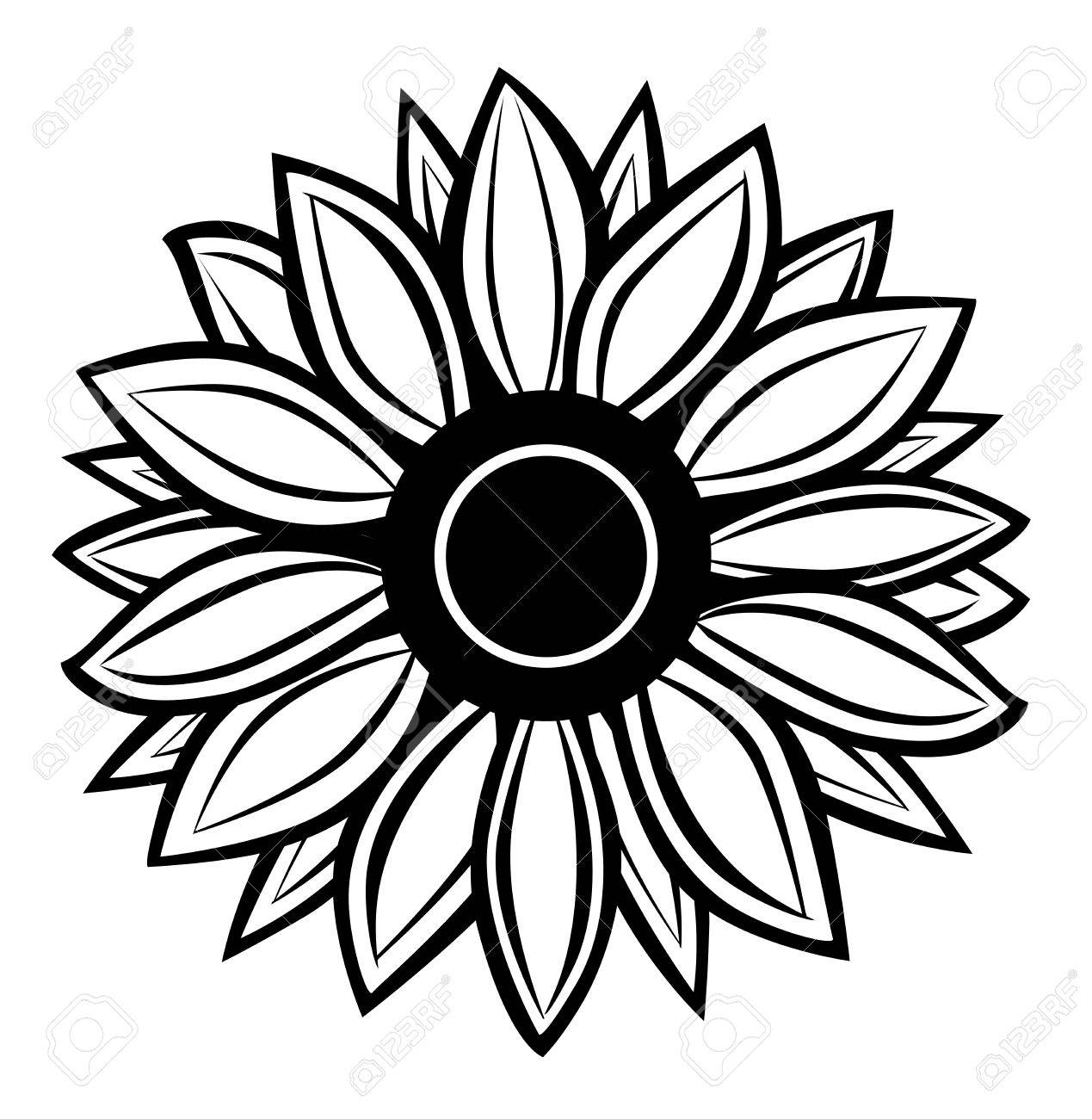 vector sunflower royalty free cliparts vectors and stock rh 123rf com sunflower vector logo sunflower vector free download