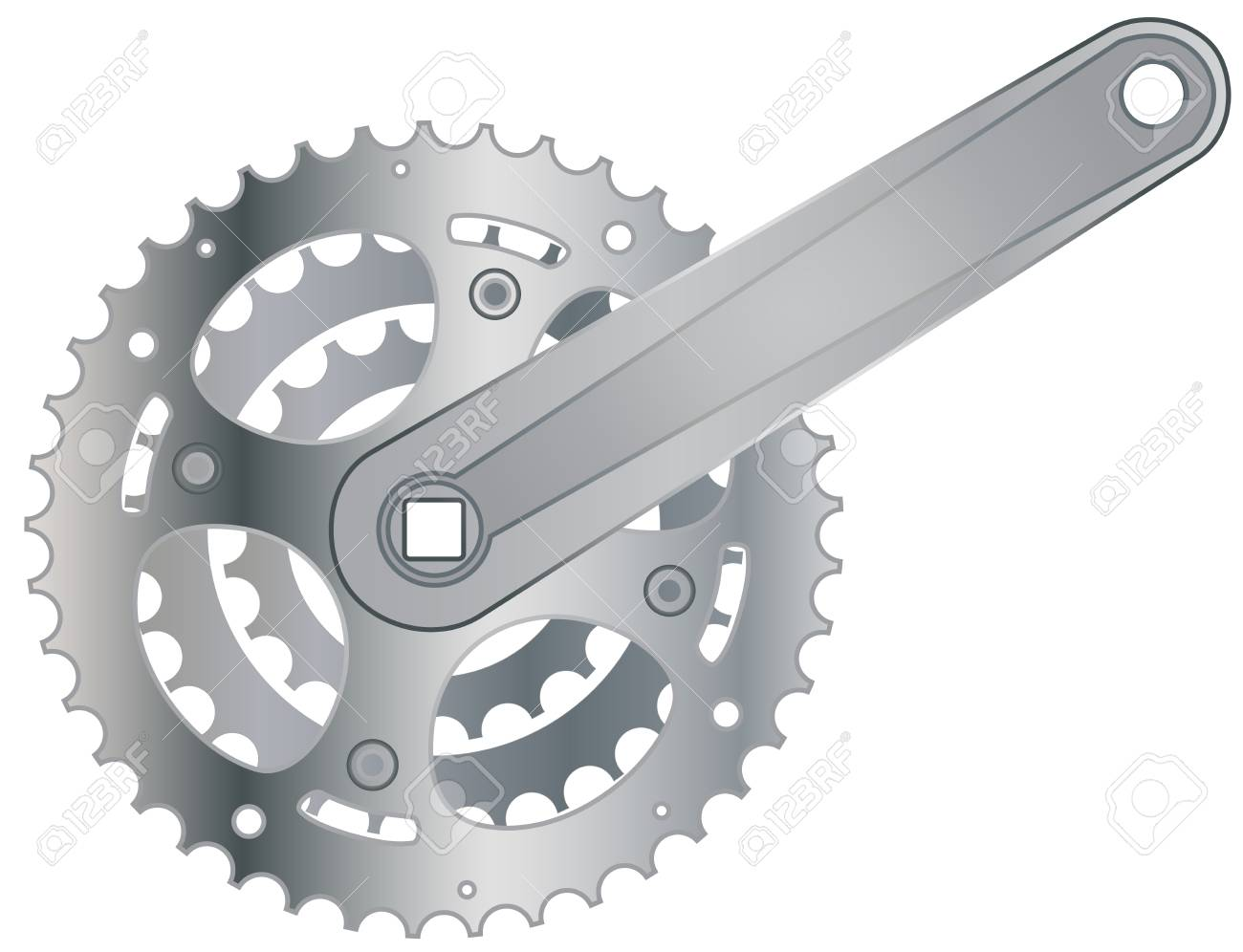 Vector bicycle cogwheel sprocket crankset symbol vector eps 10 vector bicycle cogwheel sprocket crankset symbol vector eps 10 stock vector 79012103 biocorpaavc