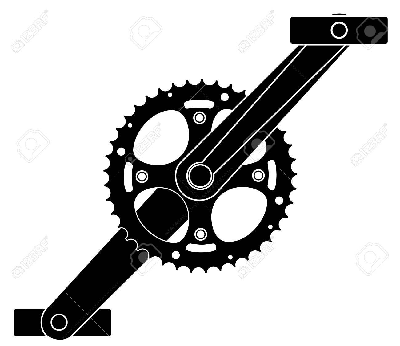 Bicycle cogwheel sprocket crankset symbol vector eps 10 royalty bicycle cogwheel sprocket crankset symbol vector eps 10 stock vector 79072752 biocorpaavc
