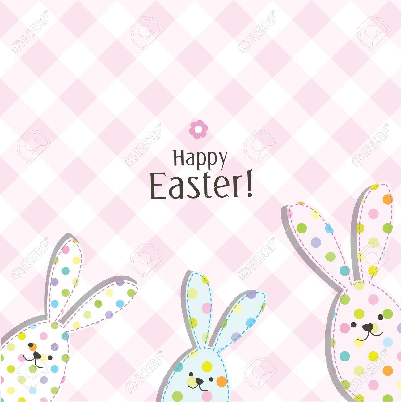 Easter card with copy space Stock Vector - 17568796