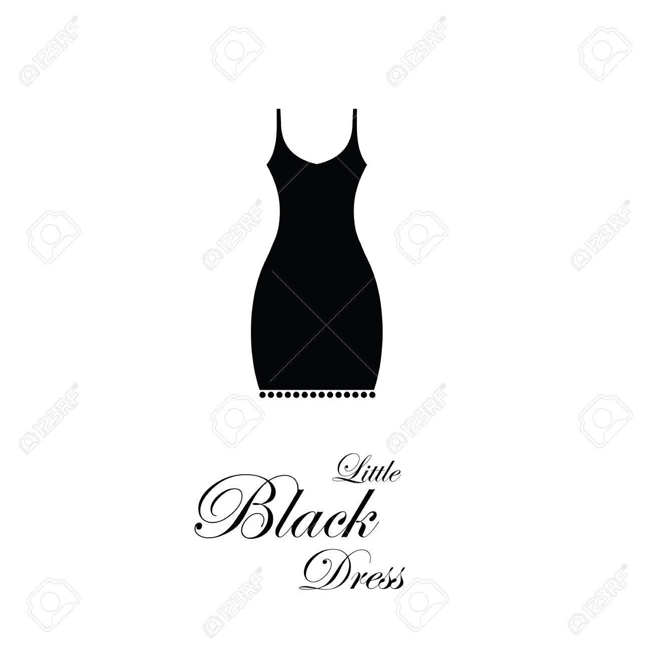 Design Élément Petite De Robe Noire y8nPNwOv0m