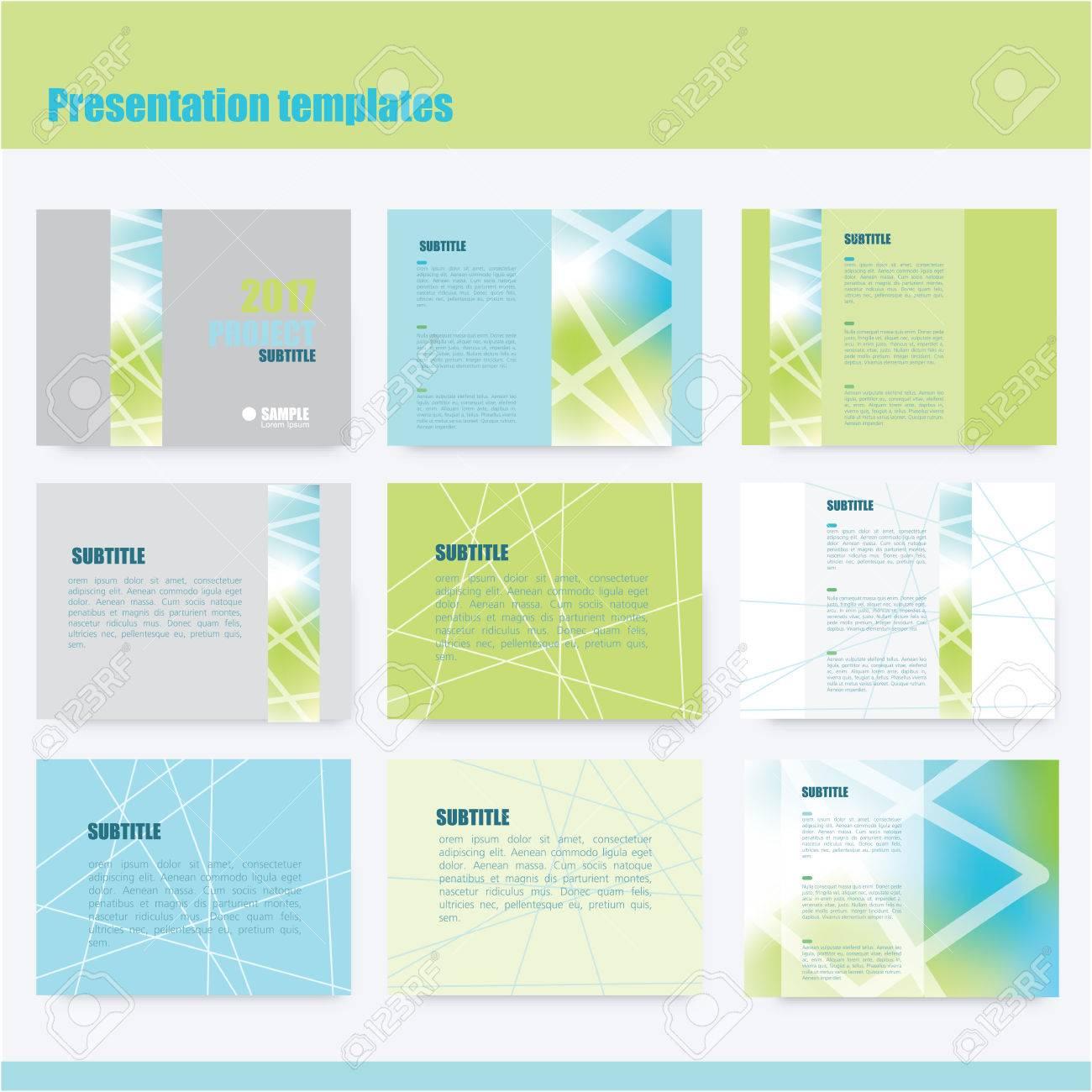 Business presentation slide templates - power point template design - 58018961