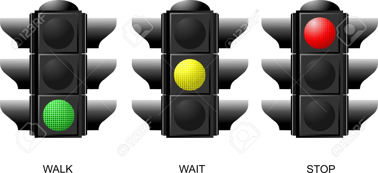 Captivating Set Of Traffic Lights. Red Signal. Yellow Signal. Green Signal Stock Vector    Good Looking