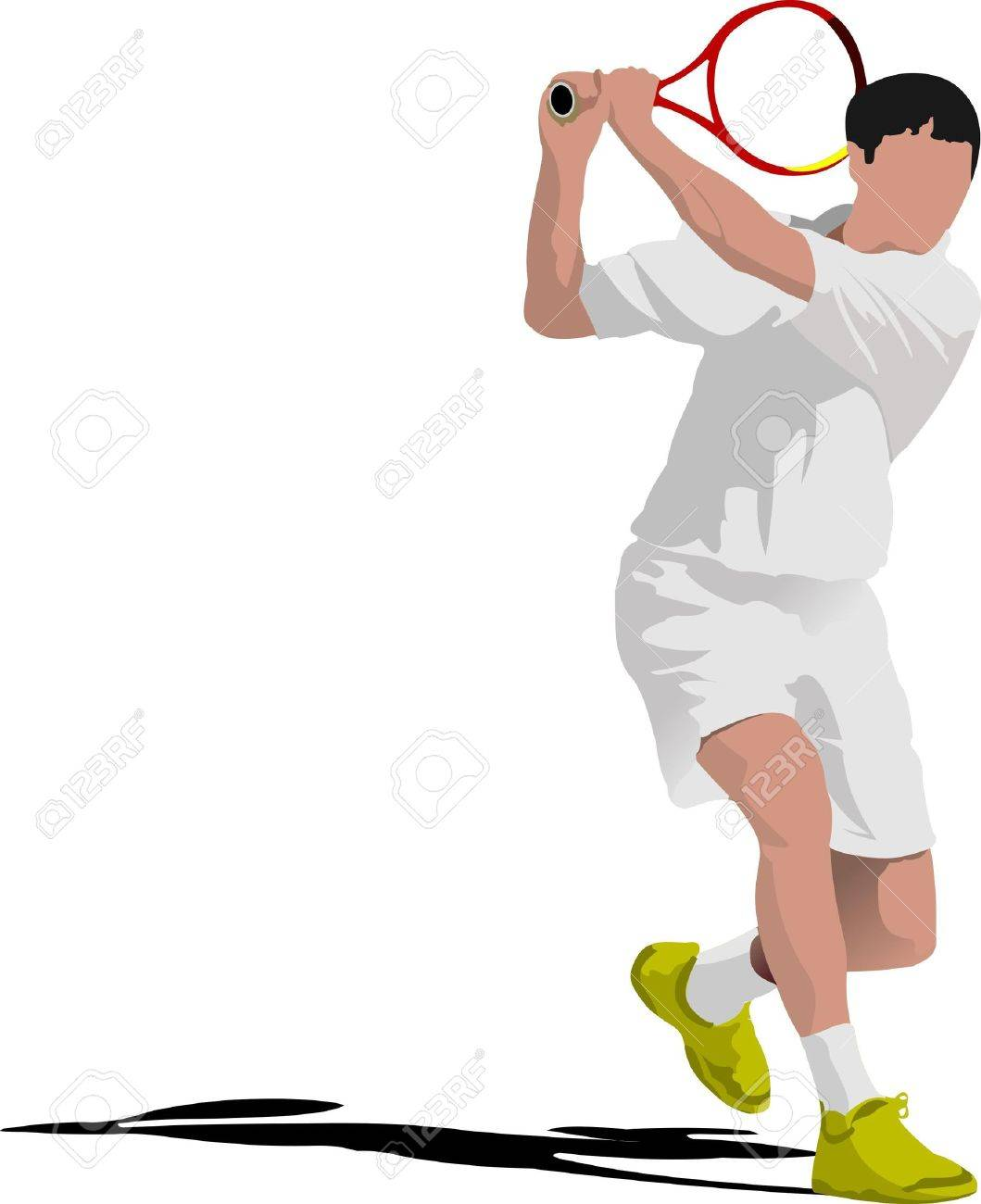Lawn Tennis Game Tennis
