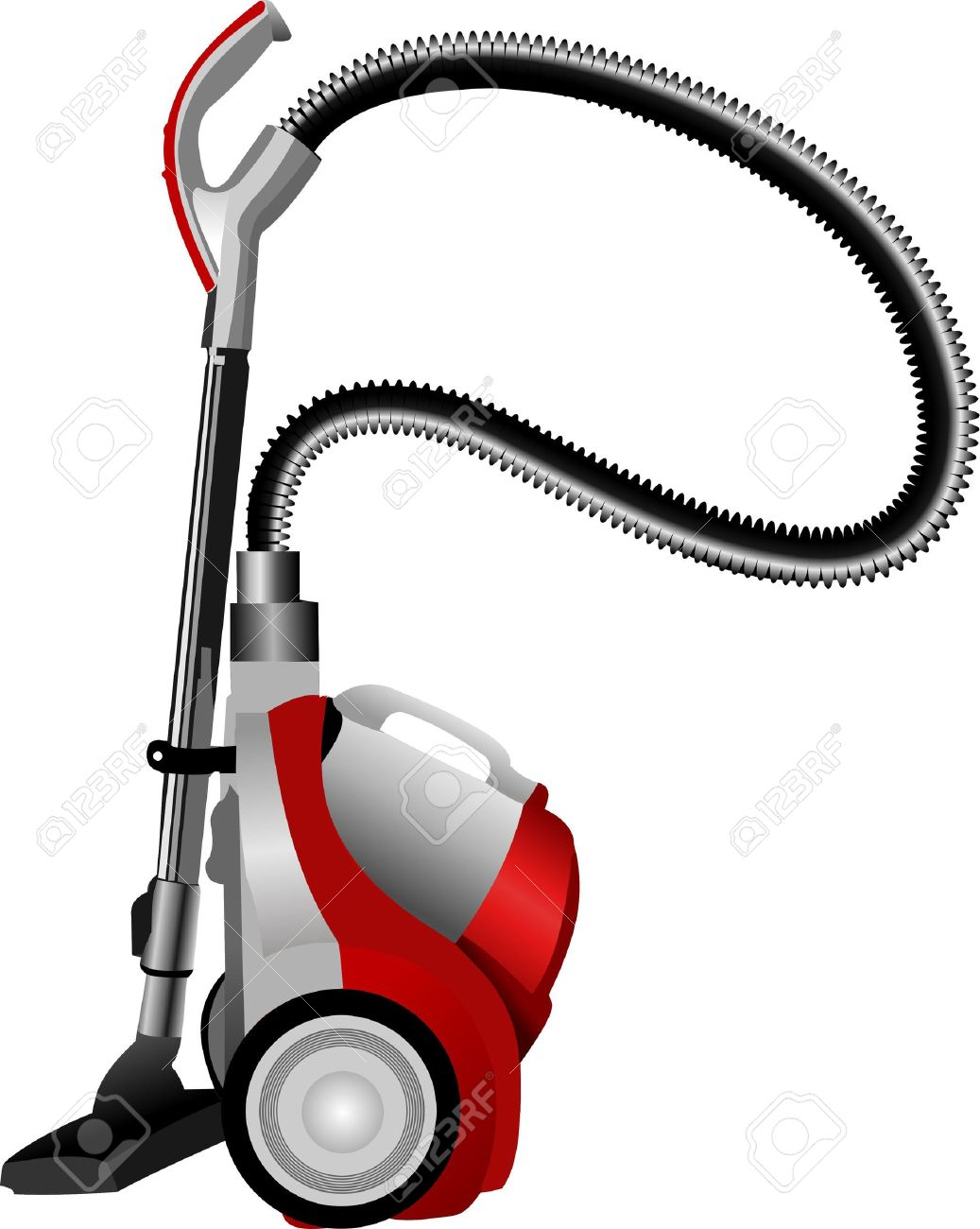 Home vacuum cleaner. Vector illustration Stock Vector - 10013531