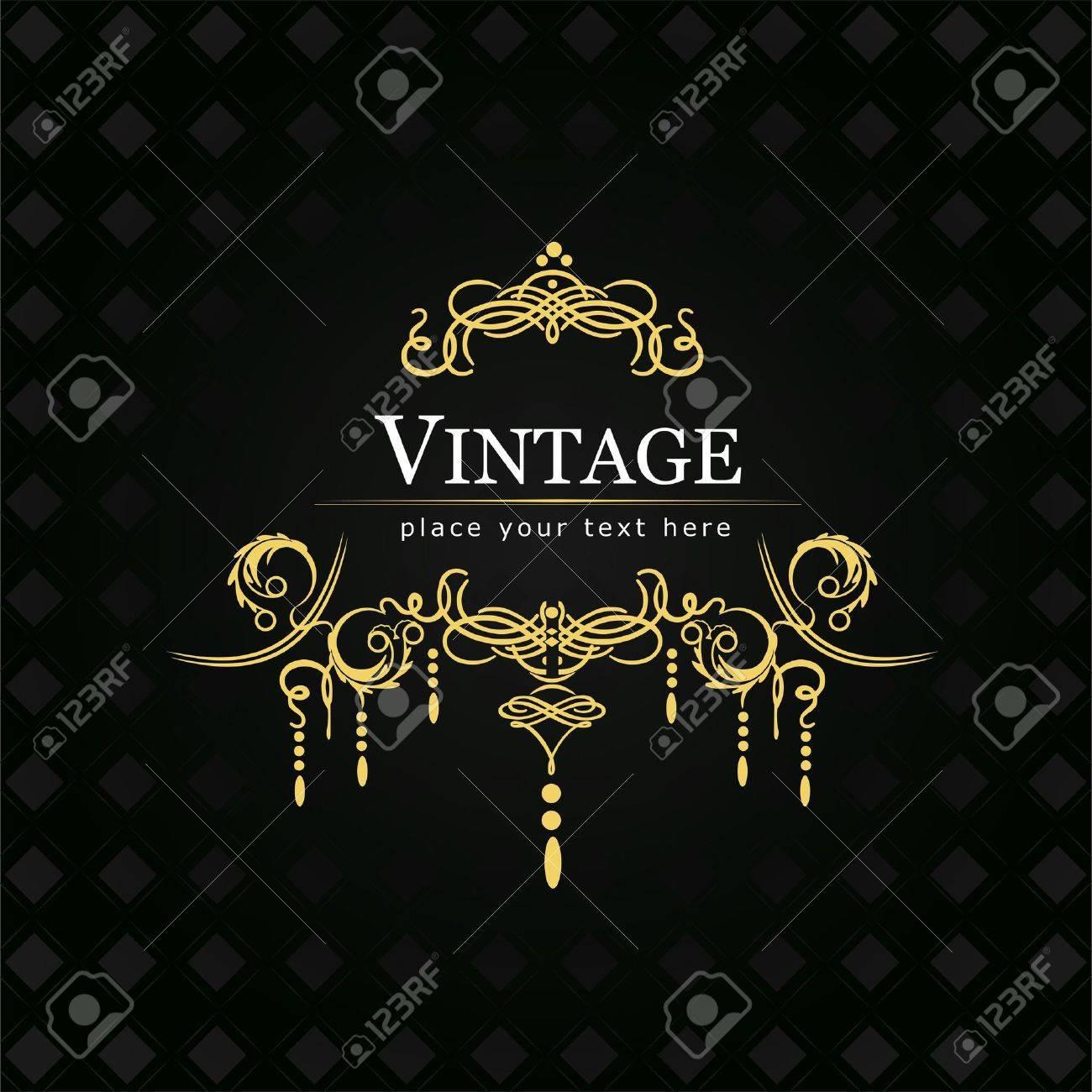 Invitation vintage card Wedding or Valentine s Day - 14829573