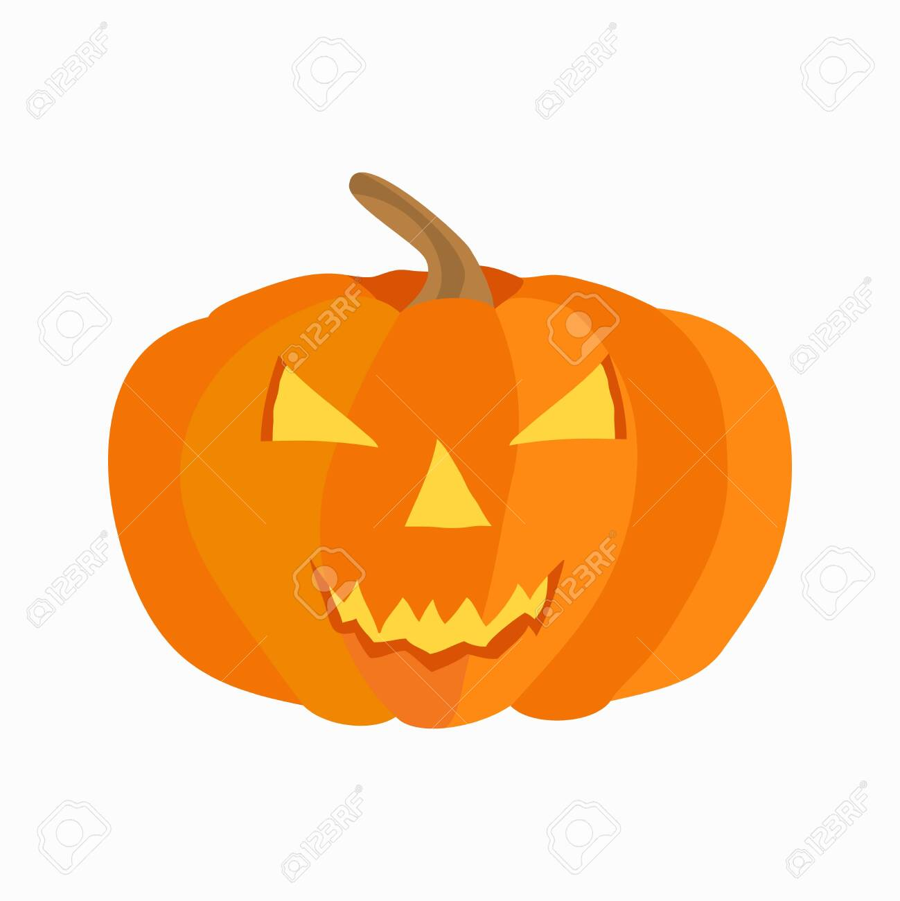 halloween icon. Flat isolated illustration for your web design. - 126591421