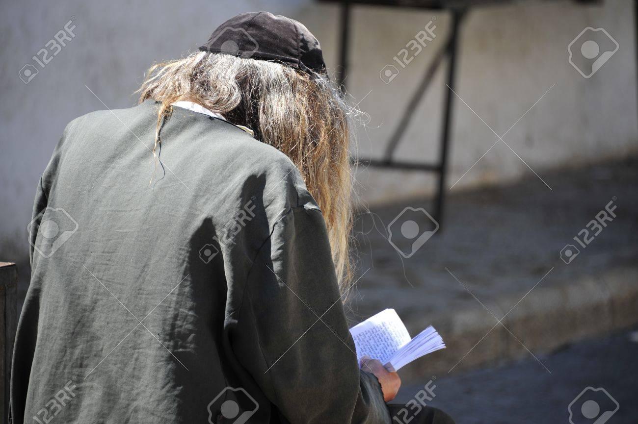 Jewish man praying. Stock Photo - 10824321