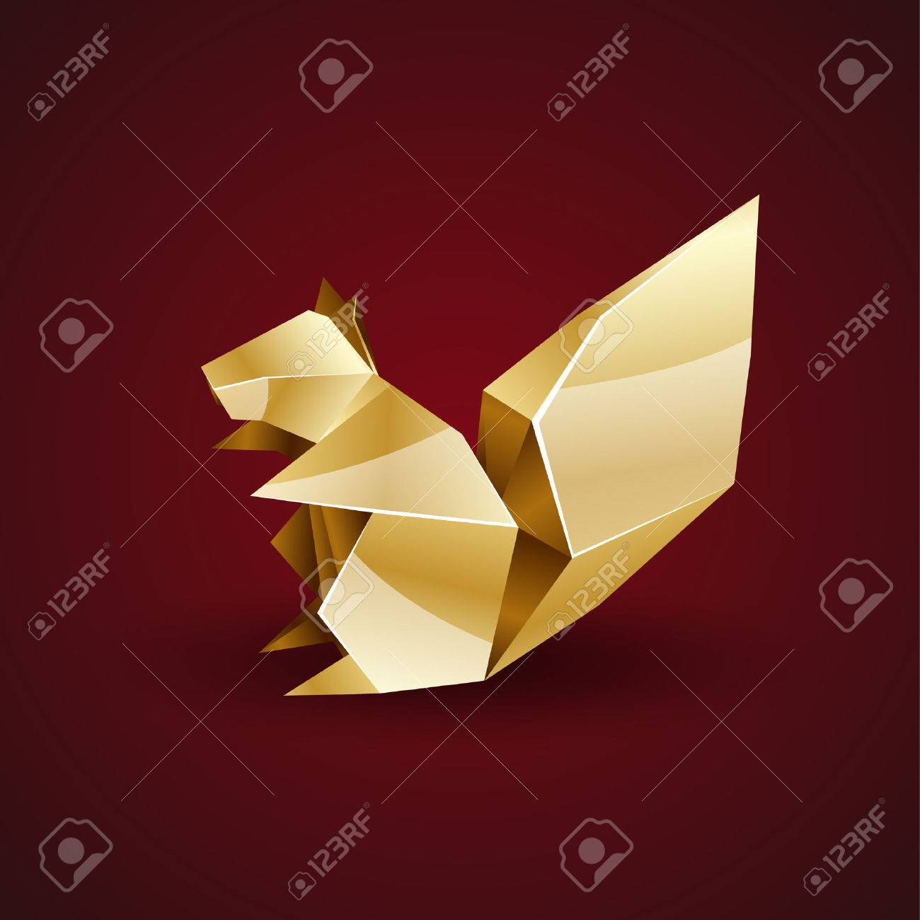 How to make a Paper Squirrel|Origami Squirrel-Easy Origami Tutorials|How to  make an origami squirrel - YouTube | 1300x1300