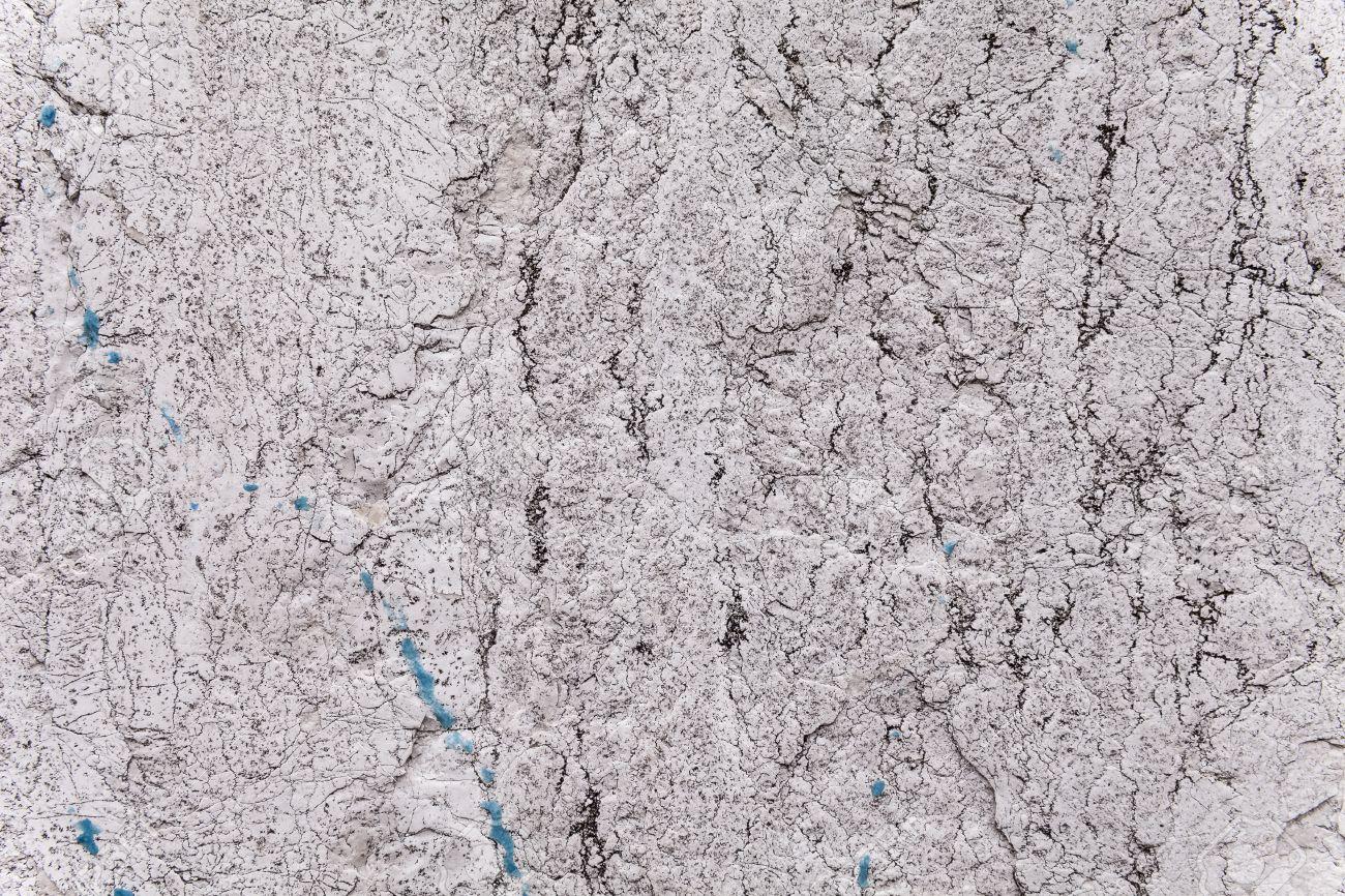 Spröde Textur Eines Alten Verwitterten Steinblock In Einem äußeren  Tragenden Wand. Hellgrau Und Hellbeige Farbe