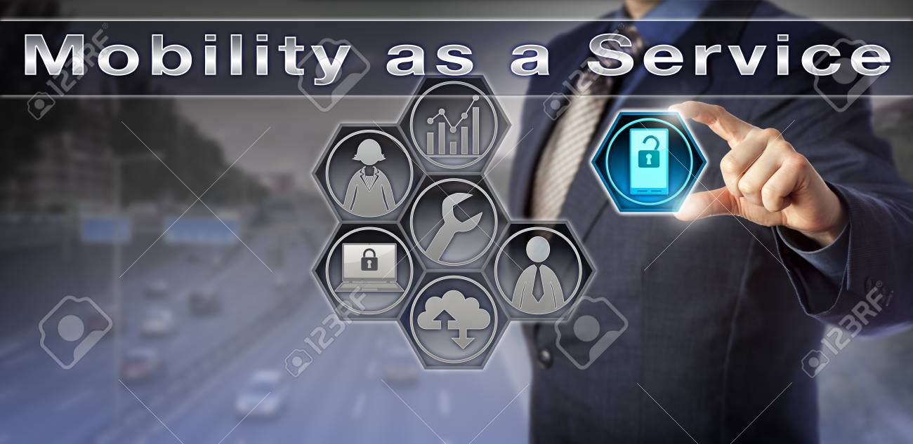 Blue chip enterprise manager is arranging for Mobility as a Service