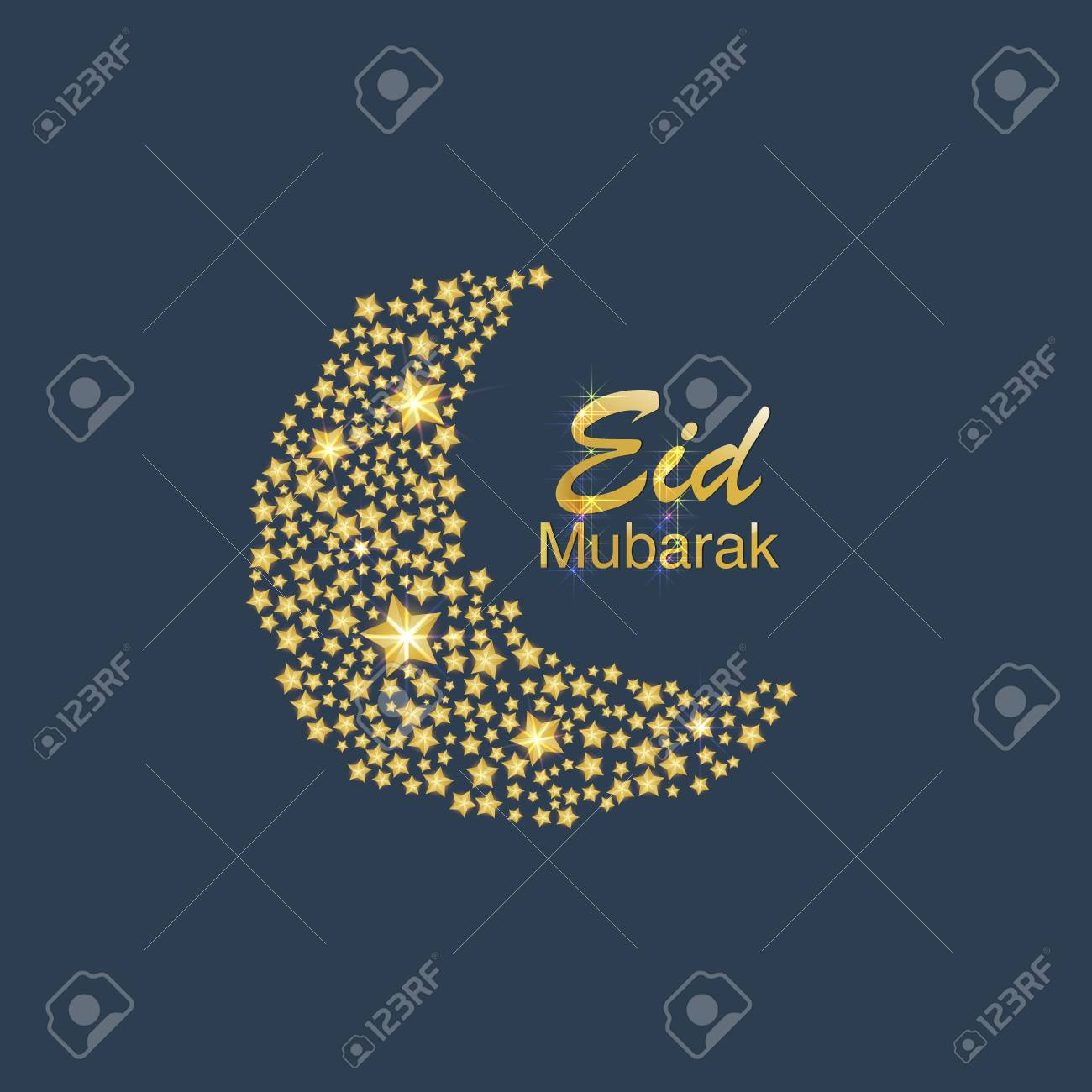 Greeting card template islamic vector design for eid mubarak greeting card template islamic vector design for eid mubarak translation of text eid mubarak m4hsunfo